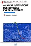Analyse statistique des données expérimentales