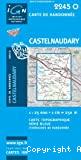 Carte IGN 1/25000, n° 2245 O, Castelnaudary