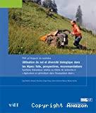 Utilisation du sol et diversité biologique dans les Alpes
