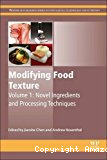 Novel ingredients and processing techniques