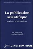 La publication scientifique